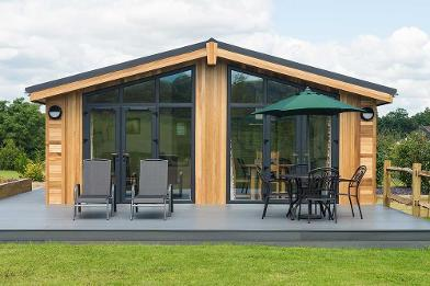 One bedroom lodge by Eco Lodge Cabins
