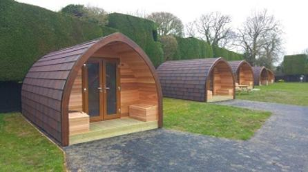 Glamping pods for sale UK ELC