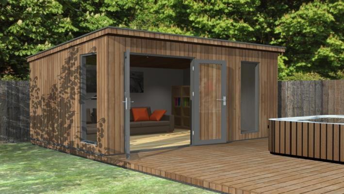 Bespoke garden rooms manufactured garden office for Garden rooms finance