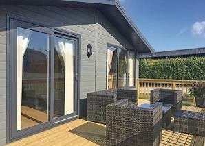 Bespoke Eco Lodge Homes for sale in the UK,