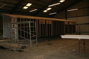 Bespoke lodge construction,