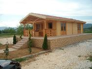 Timber home construction,