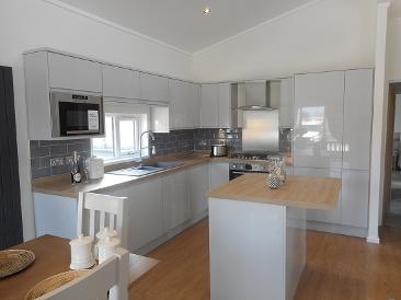 Kitchen two bedroom lodge for sale